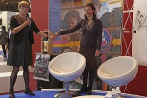 Michèle Bauby-Malzac et Albane Gellé (photo réalisée par Patricia Lajuge)